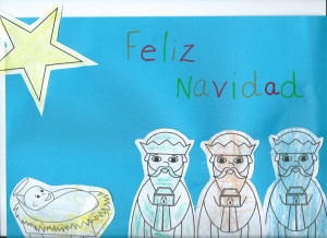 Spanish Christmas Activity